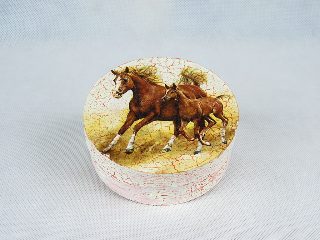 Pudelko Konie